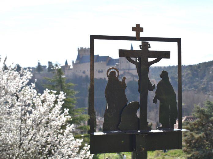 carmelitas via crucis semana santa