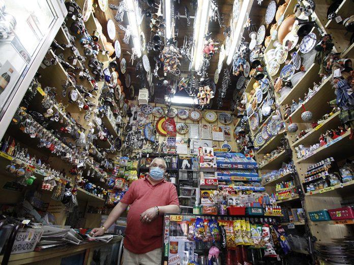 comercio tienda de recuerdos
