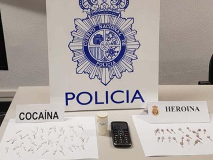 droga incautada policia