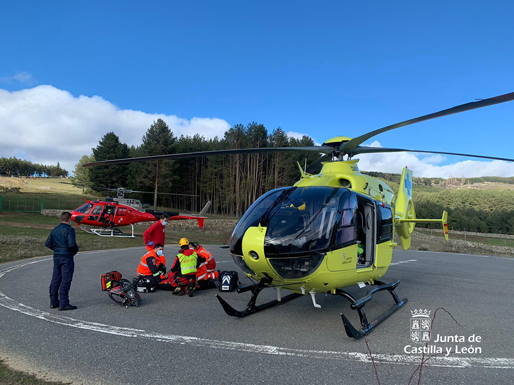 helicoptero 112