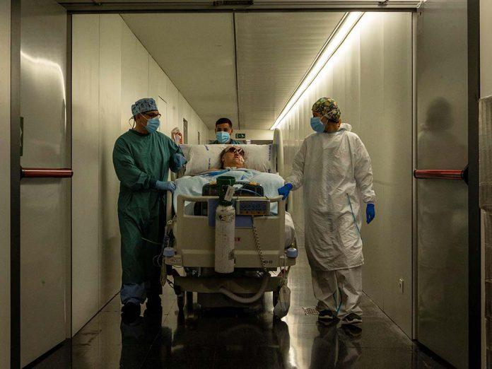 ingresado uci hospital