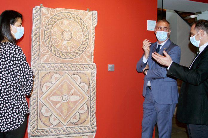 museo segovia visita jose mazarias mosaico aguilafuente