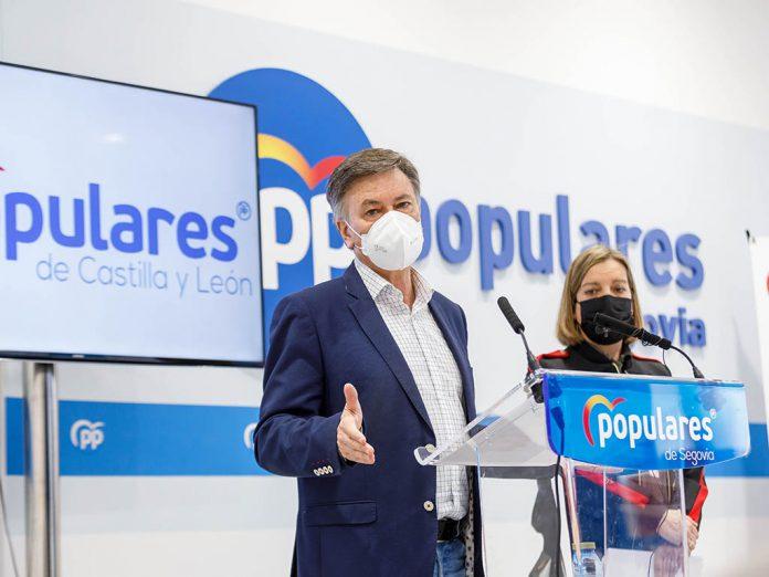 secretario autonomico del PPCyL Francisco Vazquez