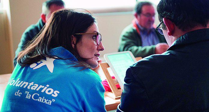 caixabank Espavila voluntariado Digitalizacion 01
