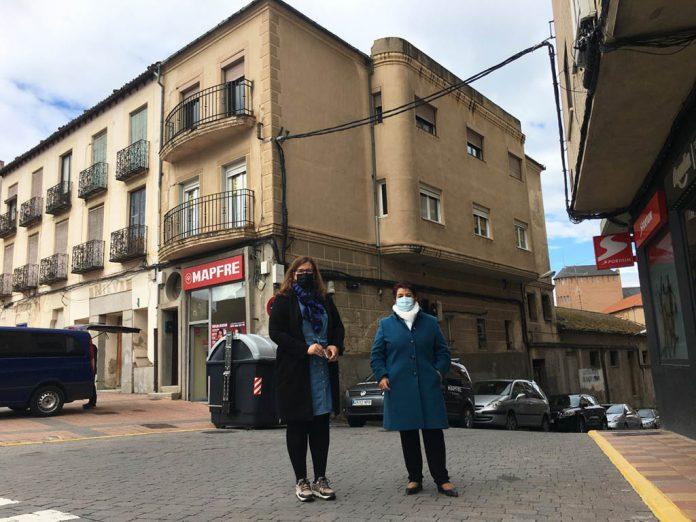 Actas ocupacion calle Antonio Machado