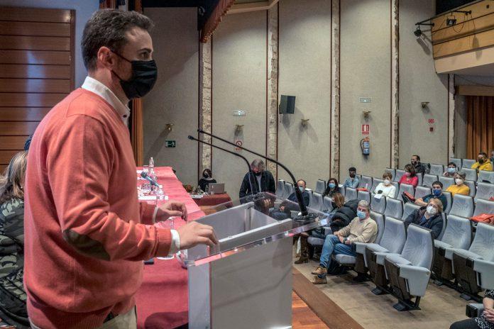 Álex Blázquez continuará como secretario general de CCOO Segovia. / KAMARERO