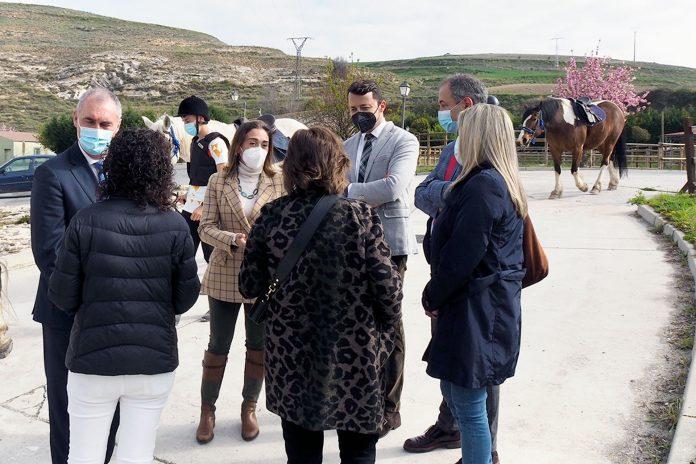 CIFP Escuela Capacitacion Agraria Visita Maria Gonzalez Directora Desarrollo Rural KAM8162