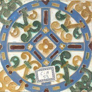 Ceramica Zuloaga patio De la Fuente del Palacio de la Granja 1 Abraham Rubio Museo Zuloaga Segovia