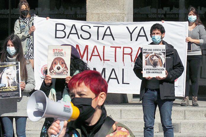 Concentracion Contra Maltrato Animal Plaza Azoguejo KAM8716