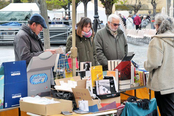 Imagen de archivo de las actividades organizadas en Segovia con motivo del Día Internacional del Libro. / KAMARERO