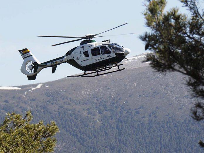 Guardia Civil Helicoptero Rescate Montana