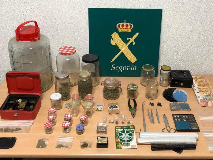 Guardia Civil drogas Tabanera del Monte