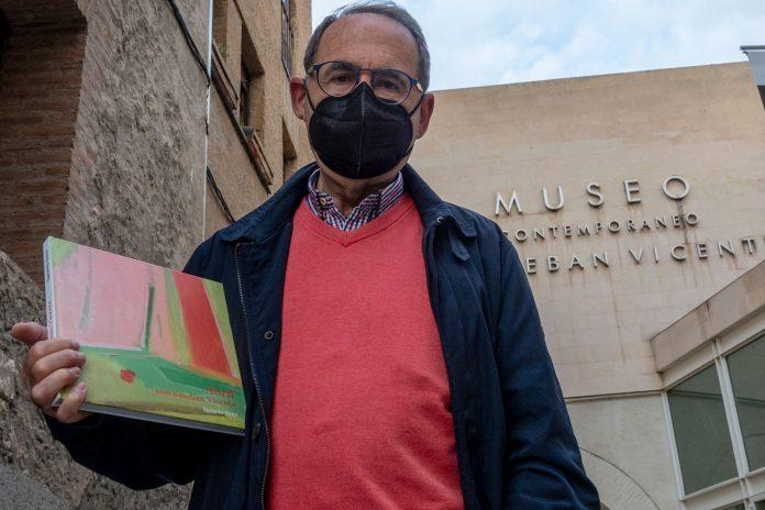 El escritor Ignacio Sanz homenajea al internacional pintor segoviano. / KAMARERO