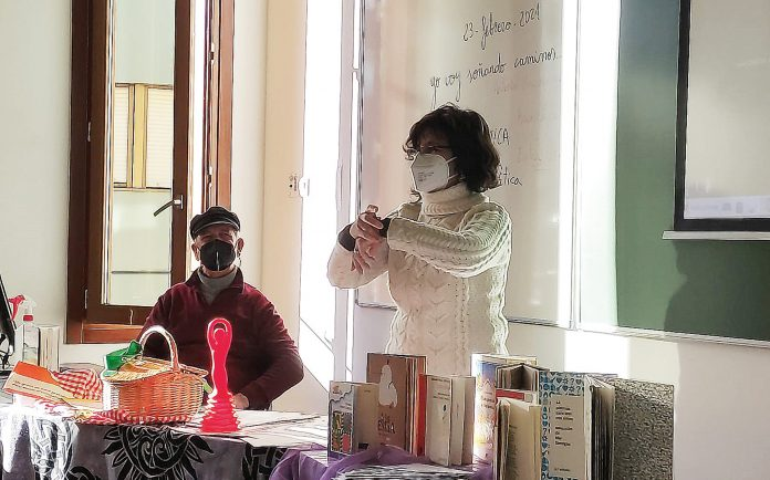 Intervención de profesorado externo en el máster. UVA.