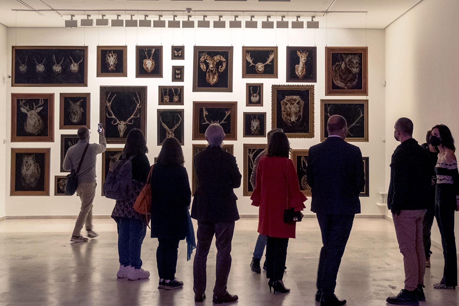 Museo Esteban Vicente Expo Borondo Hereditas KAM8004