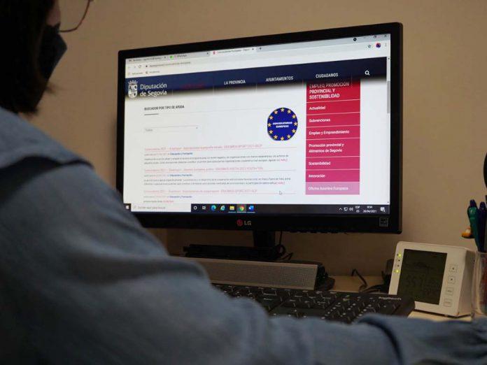 Web ayudas europeas