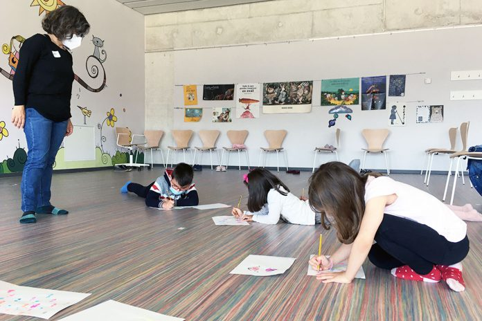 biblioteca talleres infantiles