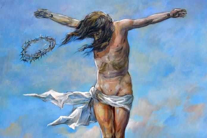 cuadro El Cristo del Viento lope tablada