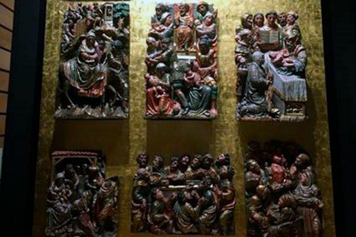 museo segovia pieza del mes retablo santa columba