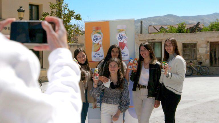 Jóvenes influencers en Otero de Herreros