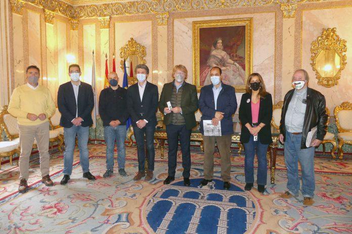 Ayuntamiento recepcio delegado Sahara CyL