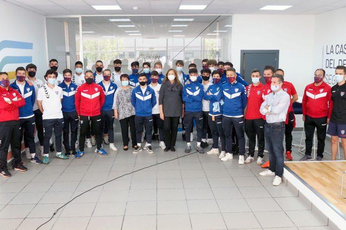 Futbol Segoviana Juvenil Recepcion Casa Deporte Ascenso