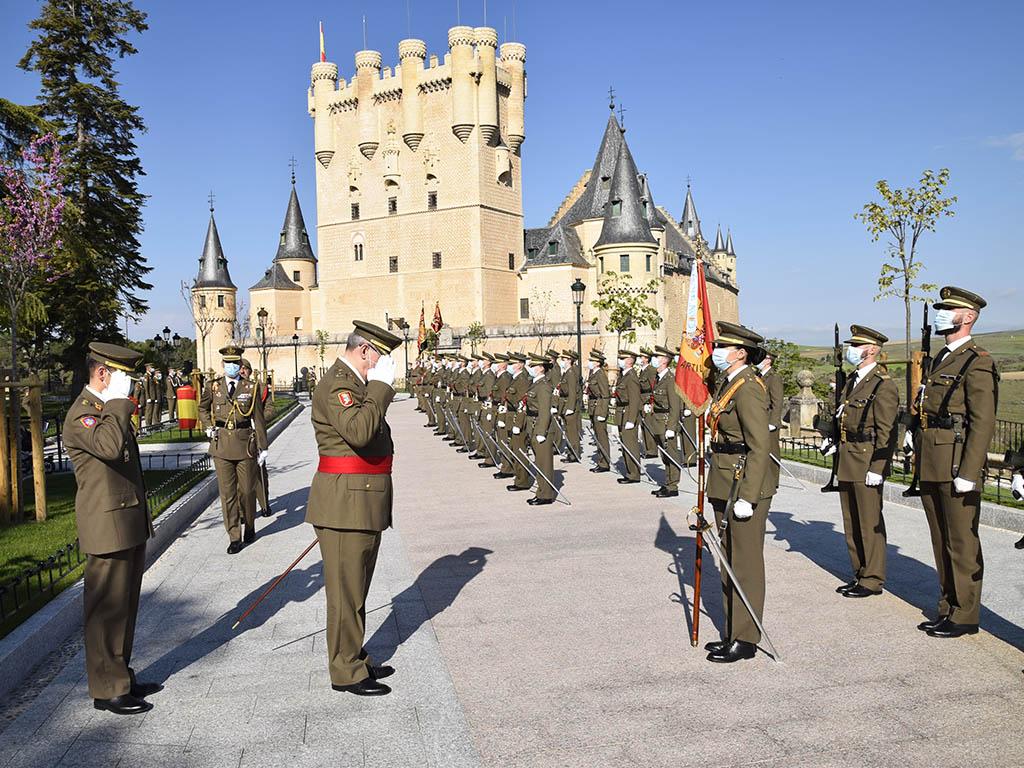 Homenaje 2 de mayo Academia de Artilleria 5