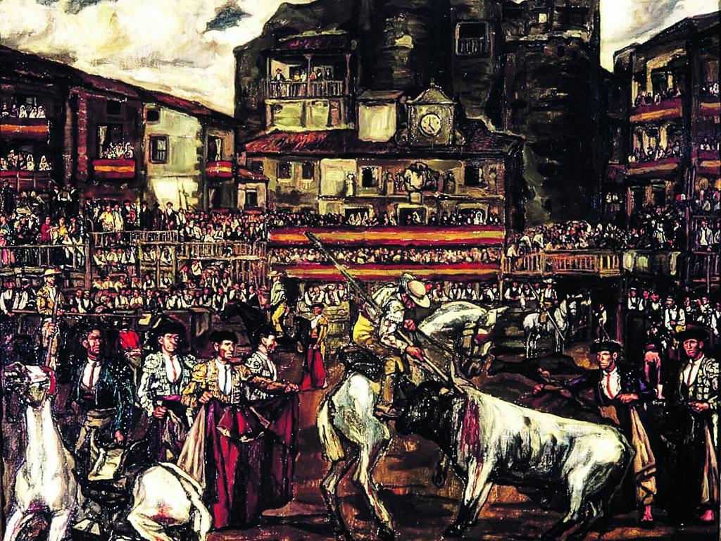 Jose Gutierrez Solana Corrida de toros en Sepulveda