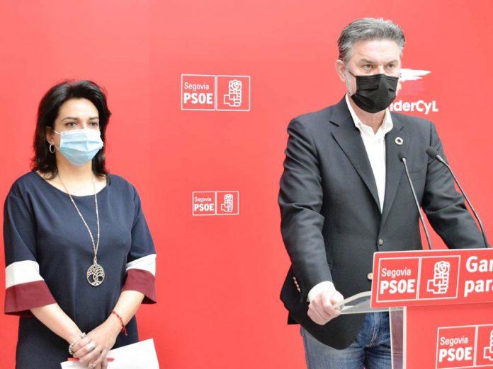 PSOE Jose Luis Vazquez y Alicia Palomo