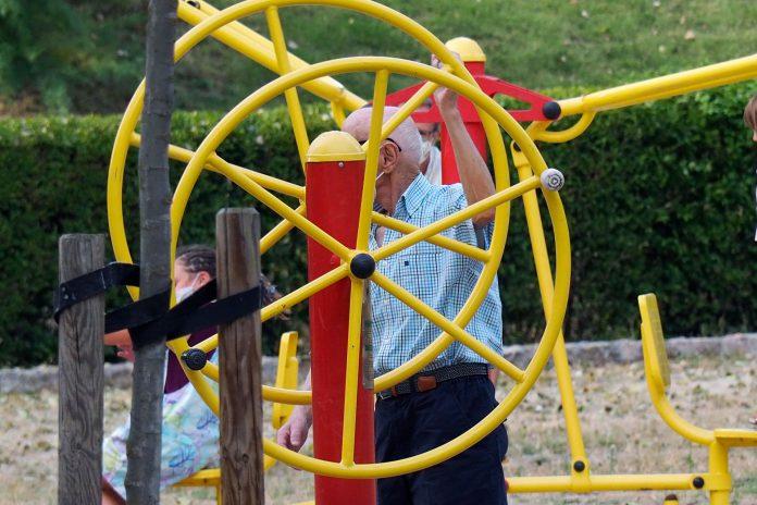 Parque Biosaludable Mayor Jubilado KAM8090