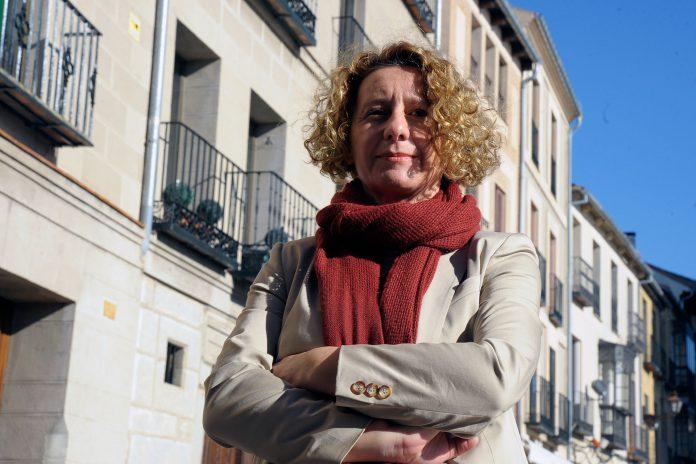 Susana Moreno preside la Demarcación de Segovia del Colegio de Arquitectos de Castilla y León Este. / KAMARERO