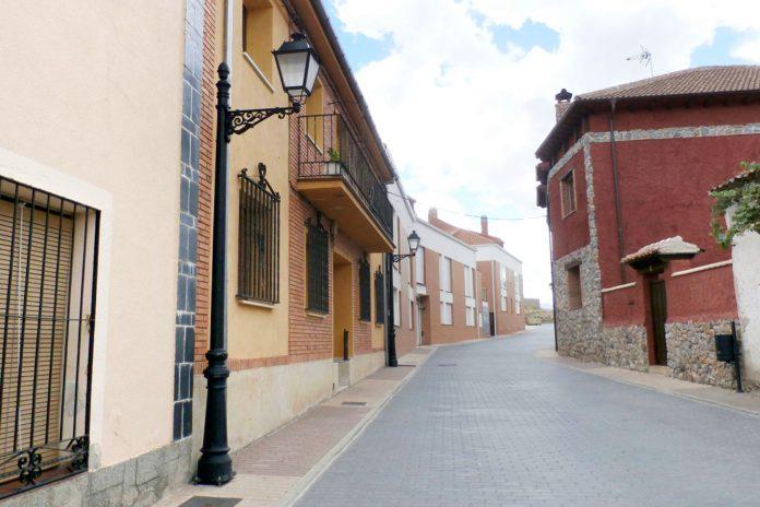 Valverde del Majano calle san bartolome