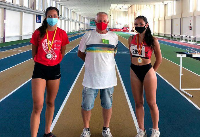 atletismo Victoria Antonio y Tania