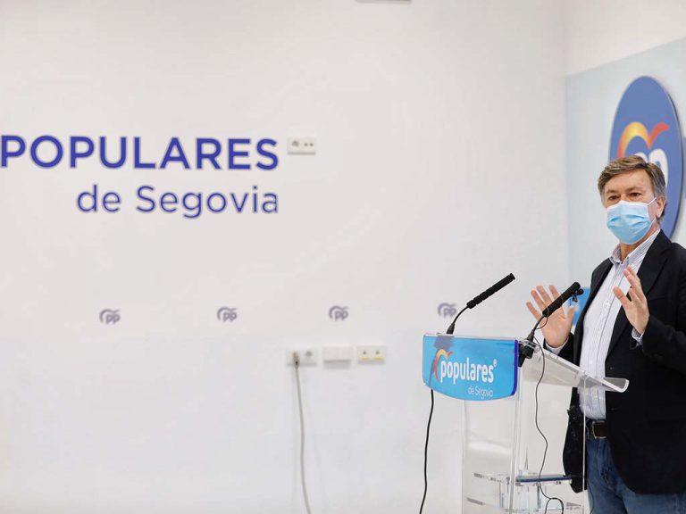 """Vázquez ve """"indigno"""" que el PSOE hable de las residencias cuando es """"el Gobierno de los cementerios"""""""
