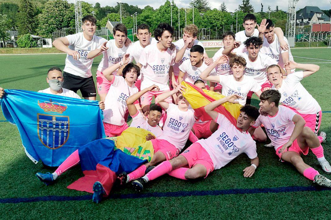 futbol juvenil segoviana ponferradina ascenso honor