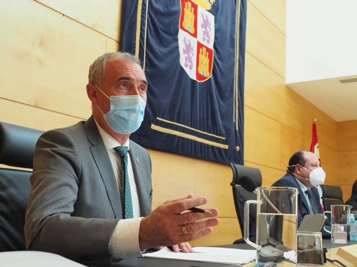jose mazarias Comparecencia delegado territorial Cortes JCyL