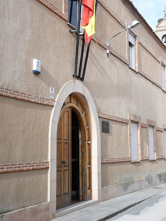 Ausencia de vigilantes de seguridad en los juzgados de Segovia