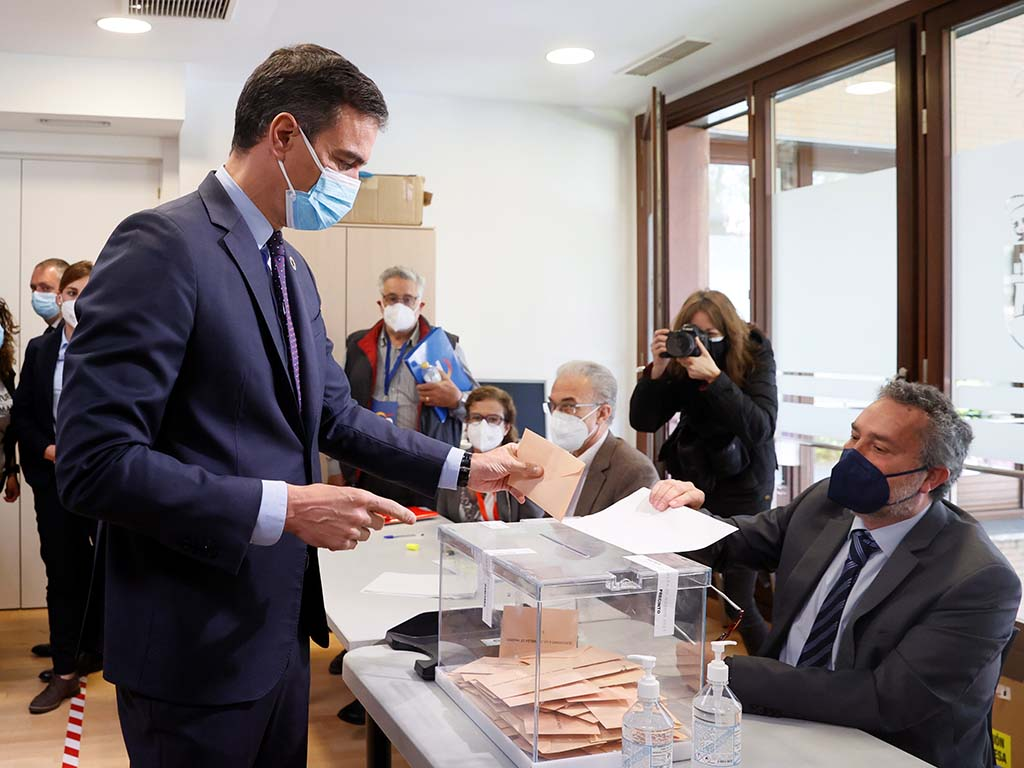 pedro sanchez elecciones madrid 4m