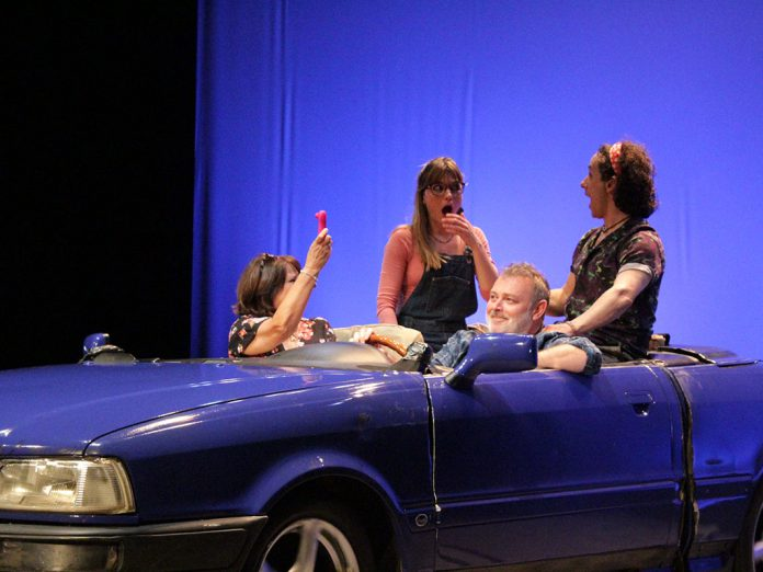 teatro bla bla coche