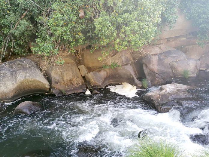 rio eresma espuma