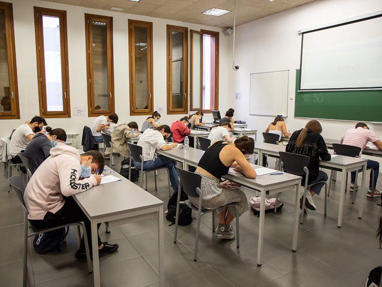 El 98,6% de los estudiantes segovianos consigue superar la EBAU