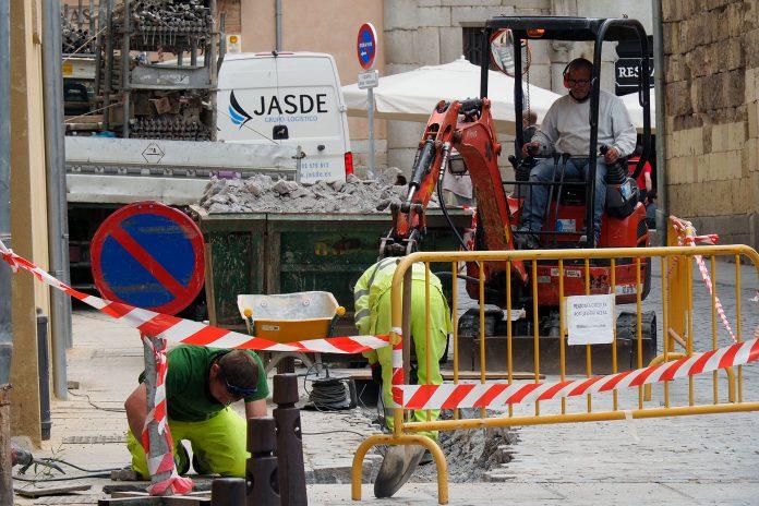 Calle Jose Canalejas Obras