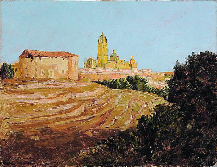 Charles Cottet Eglise de Segovie
