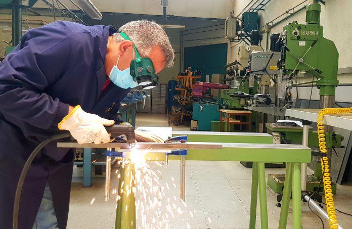 Grado Superior Construcciones Metalicas IES La Albuera