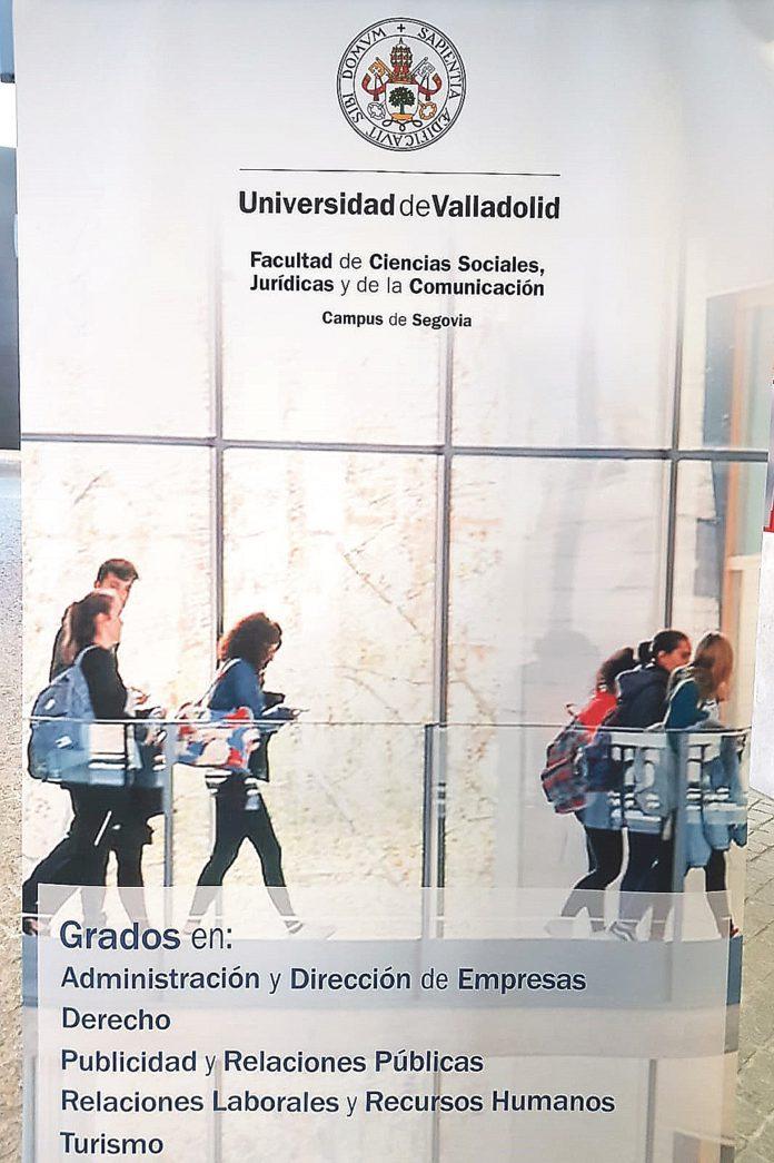 Oferta de grados de la Facultad de Ciencias Sociales Jurídicas y de la Comunicación. Foto UVa.