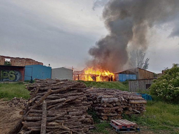 Incendio Valsain