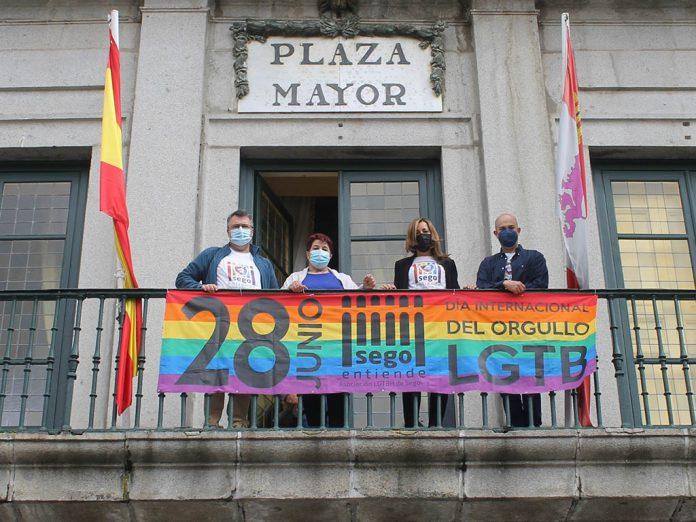 Pancarta LGTB