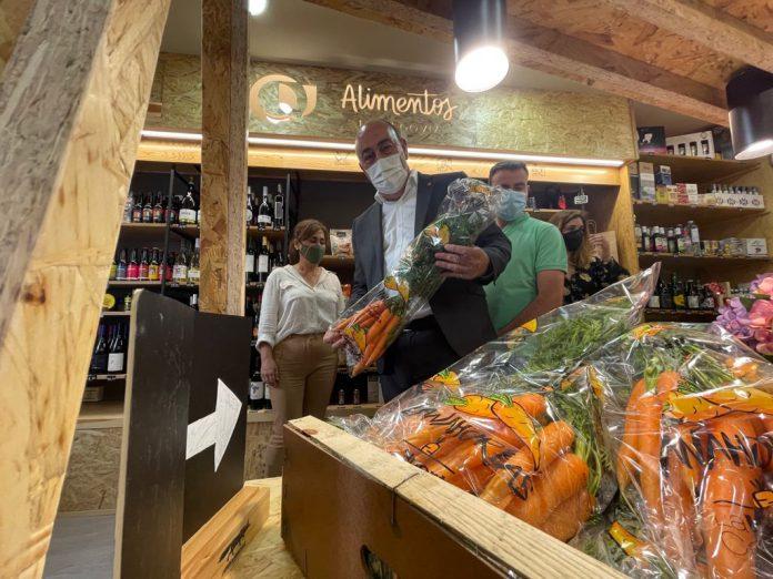 Tienda Saborea en Cuellar Alimentos de Segovia
