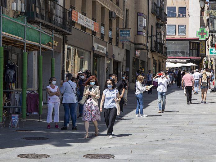 Turistas Coronavirus Mascarilla Nerea Llorente 4