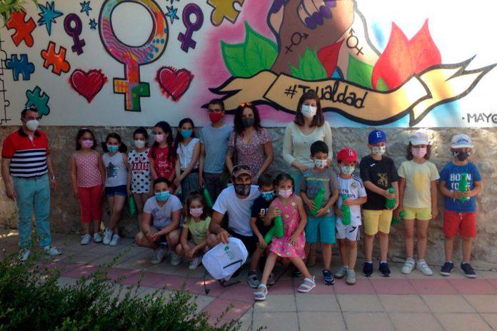 Villaverde iscar mural igualdad